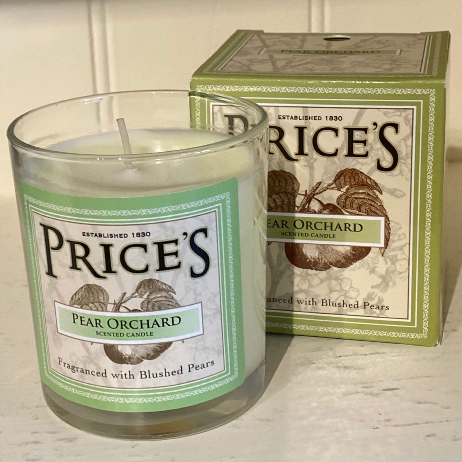 'Pear Orchard' Price's Candle (Was £7.50)