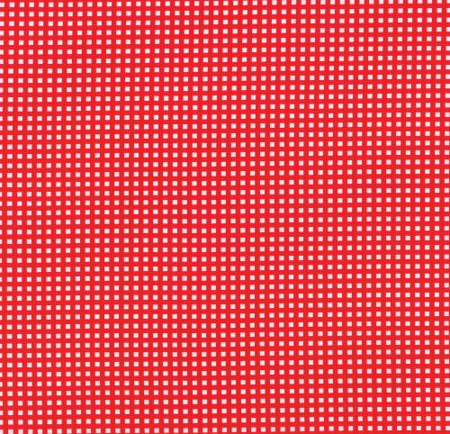 Gingham röd