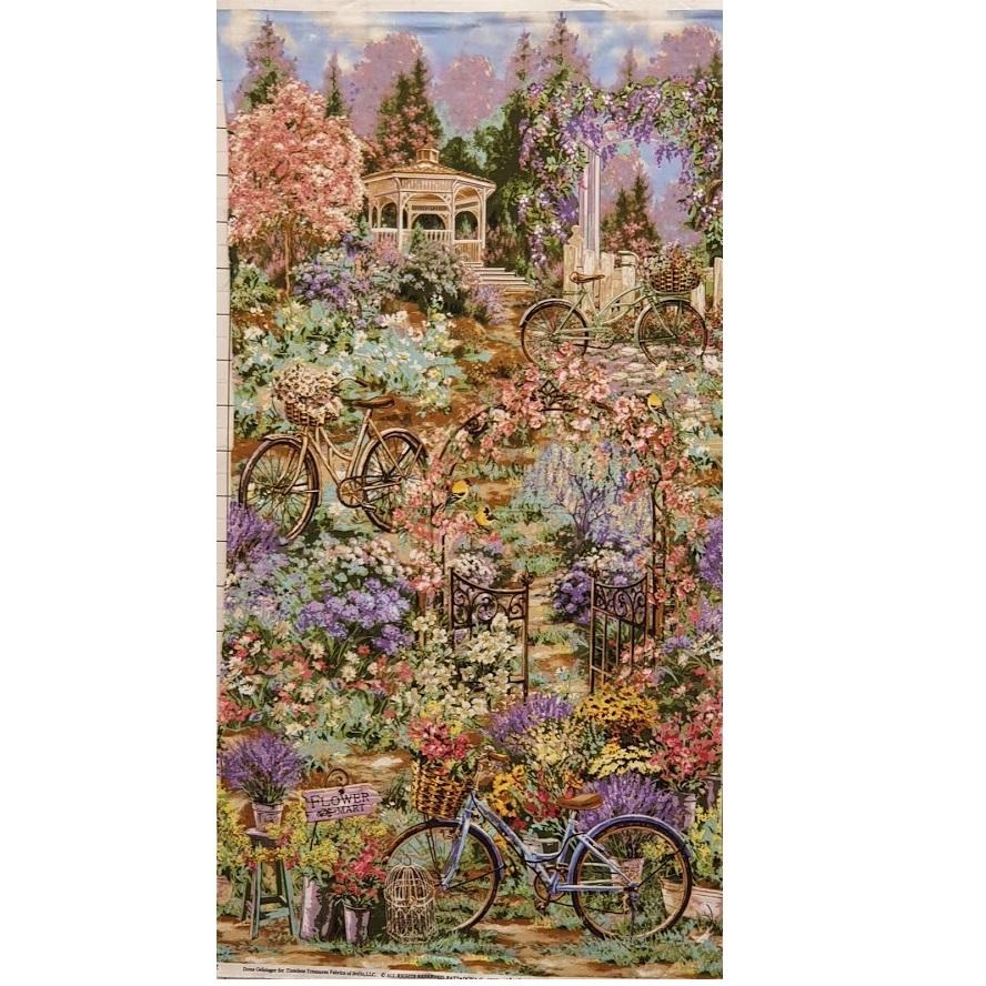 Cyklar i blommor