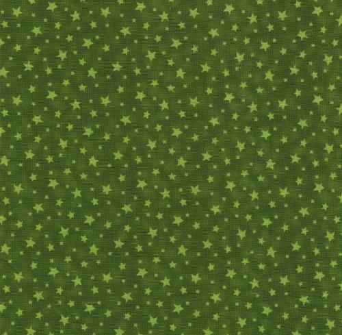 30 cm x 110 cm Gröna stjärnor