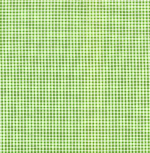 Gingham grön