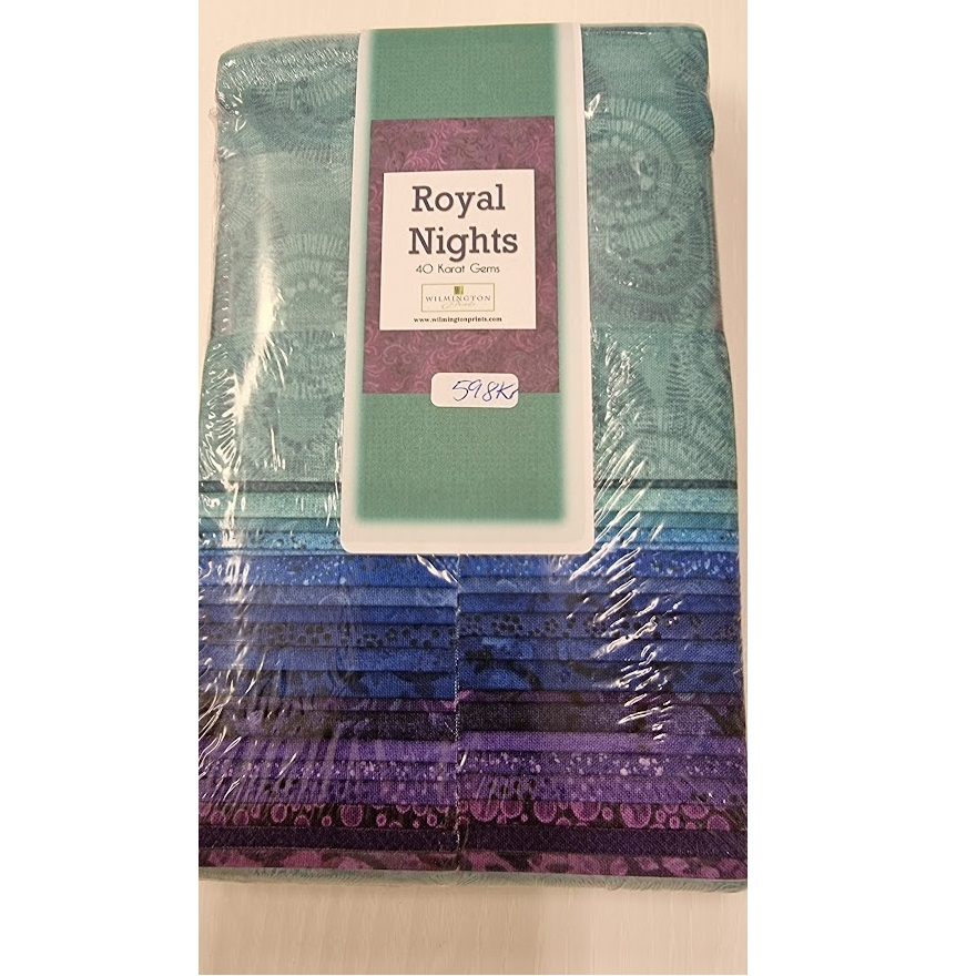 "Royal Nights 2 1/2"" stripes"