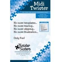 """Midi Twister 6½"""" rutor"""