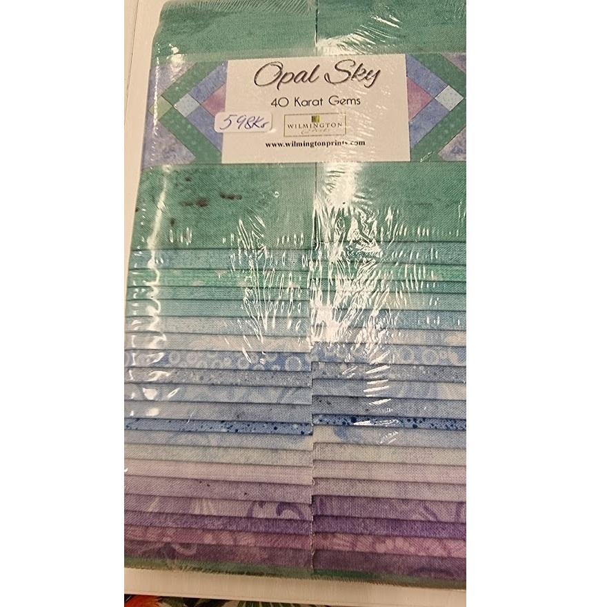 """Opal Sky 2 1/2"""" strips"""