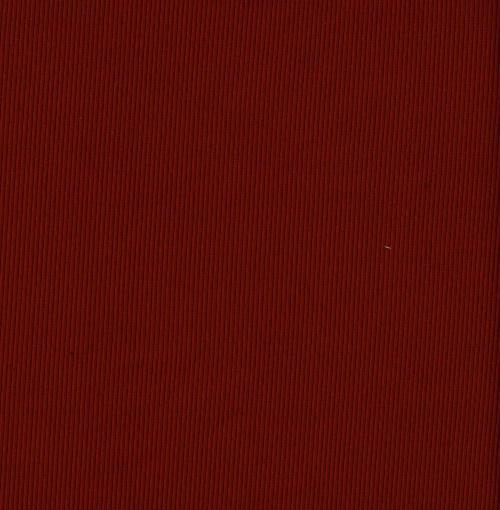 Ribbstickat röd