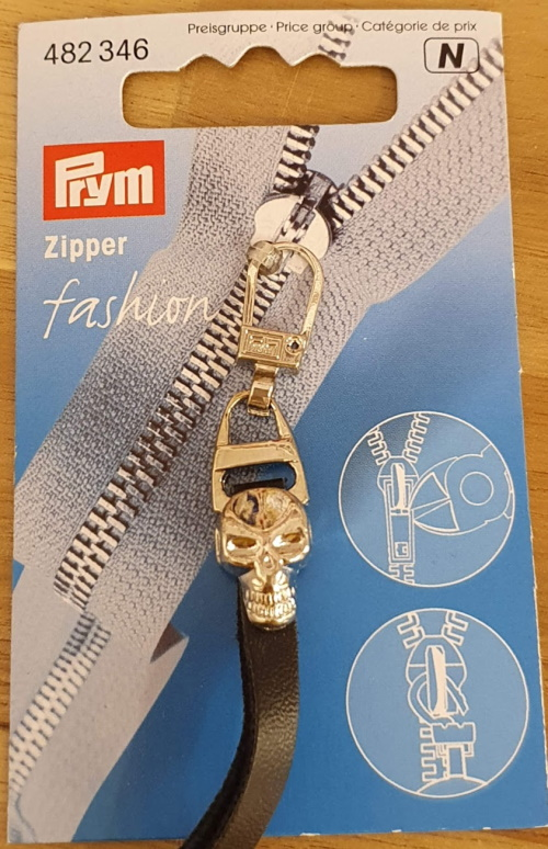 Zipper fashion