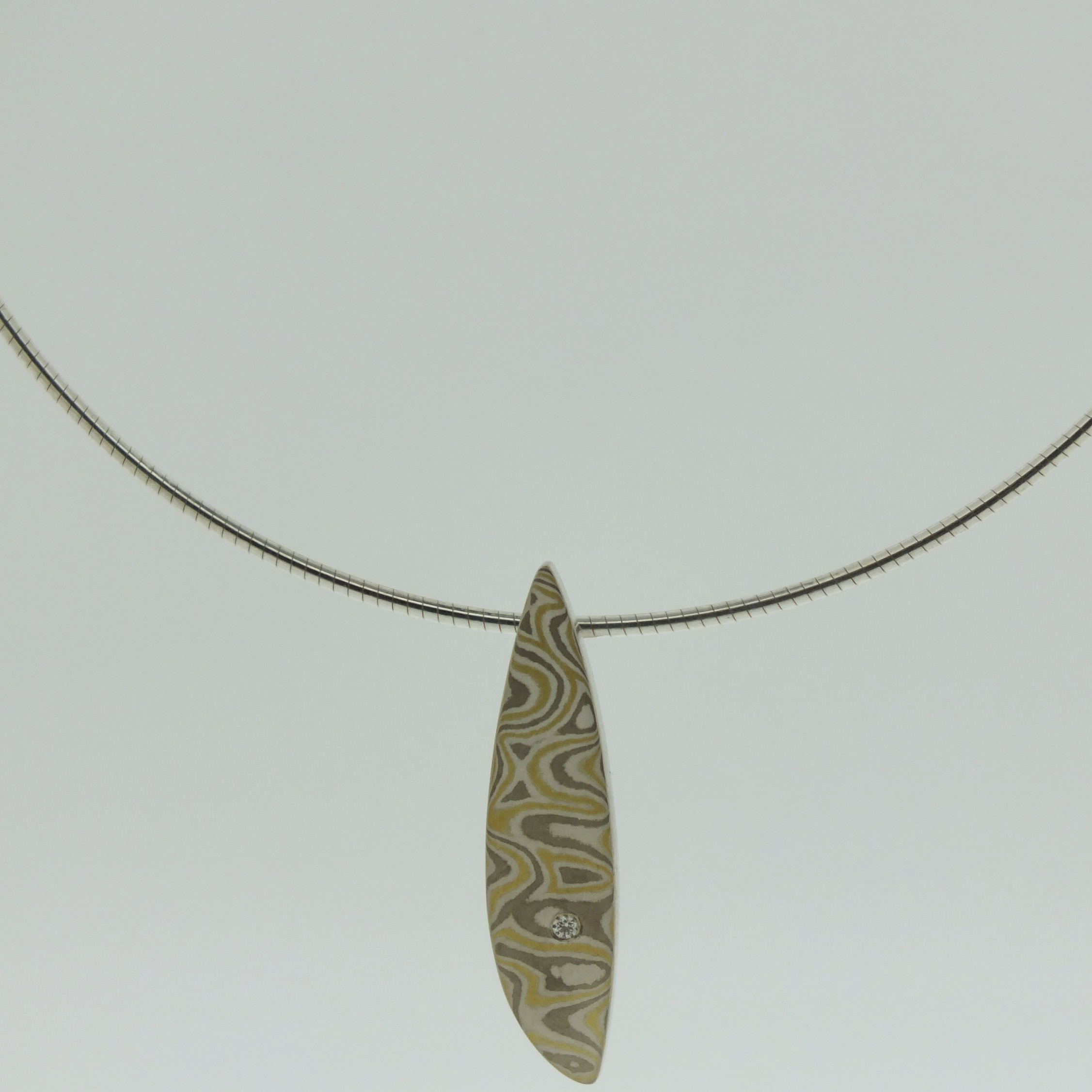 Sterling Silver Omega Collar