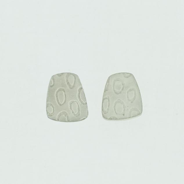 Toatie Sterling silver 4 neukit stud earrings