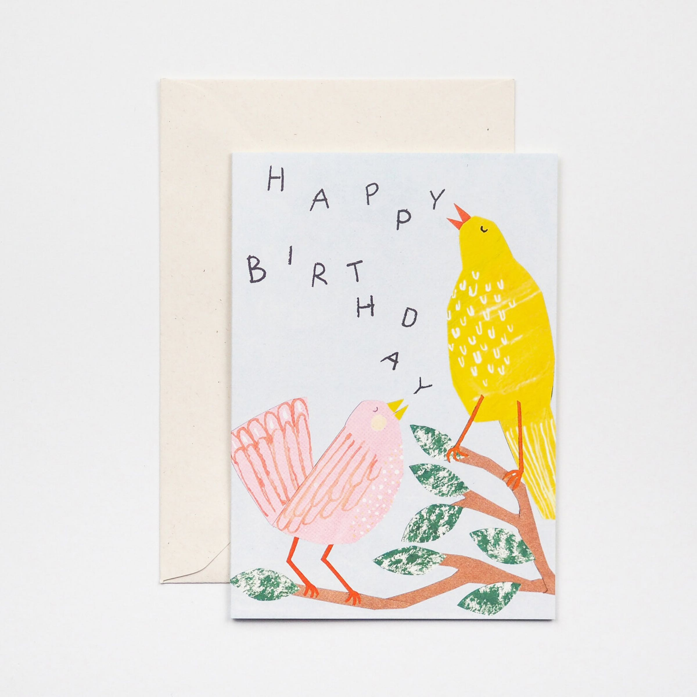 Birthday Birds Card by Hadley Paper Goods