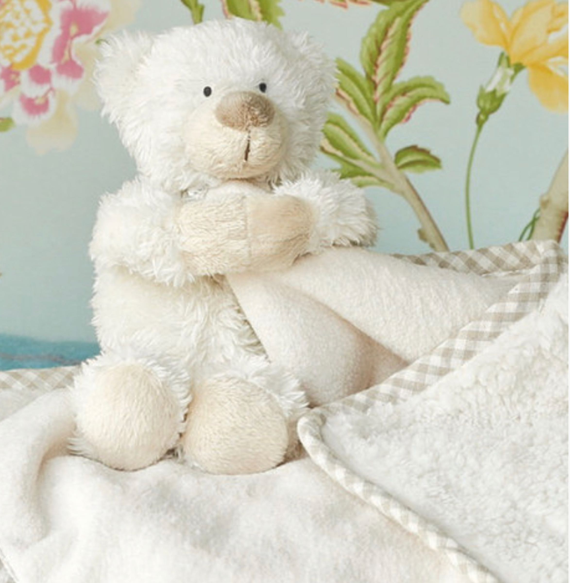 Jomanda Bear Toy Soother  29cm x29cm