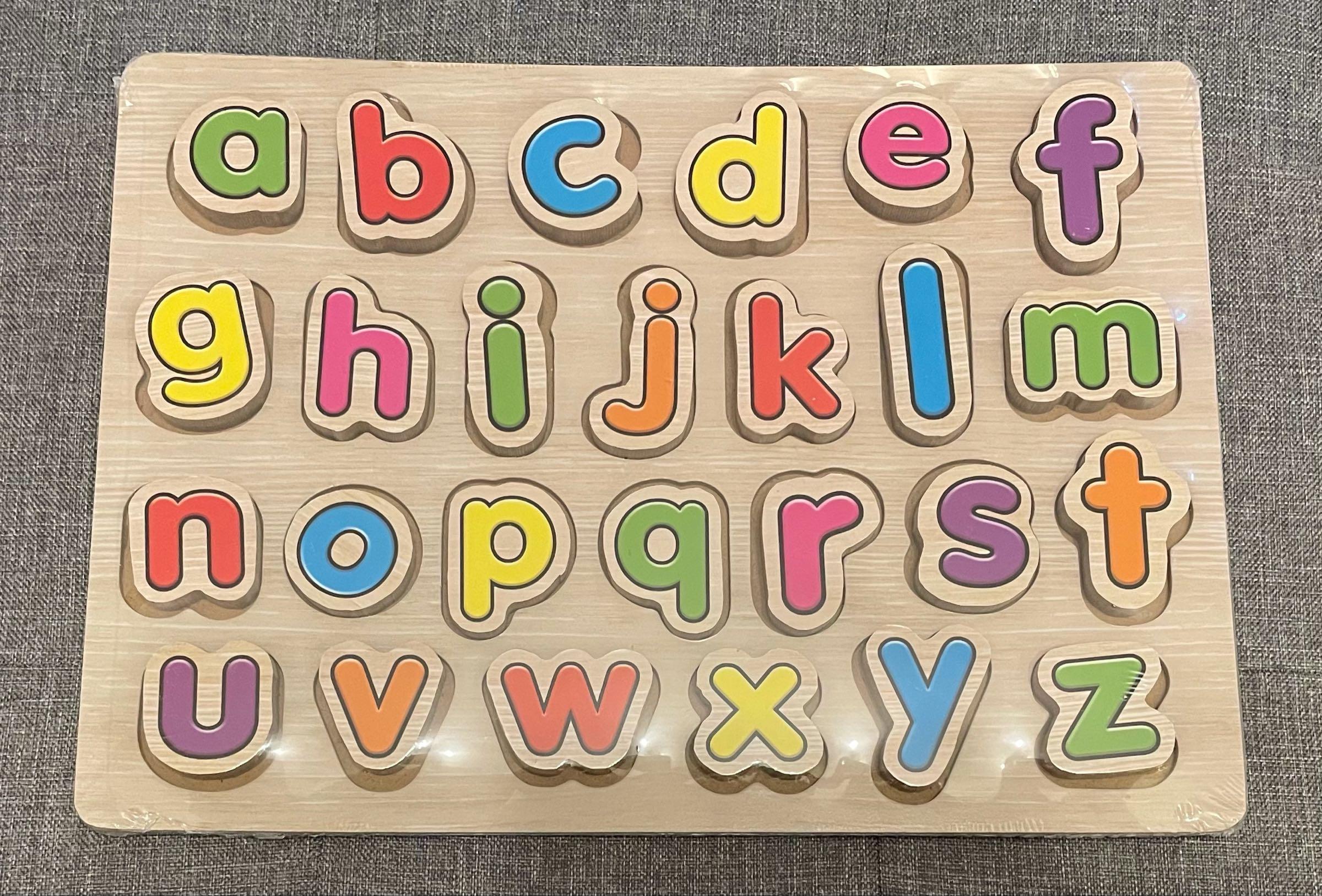 Alphabet chunky puzzle