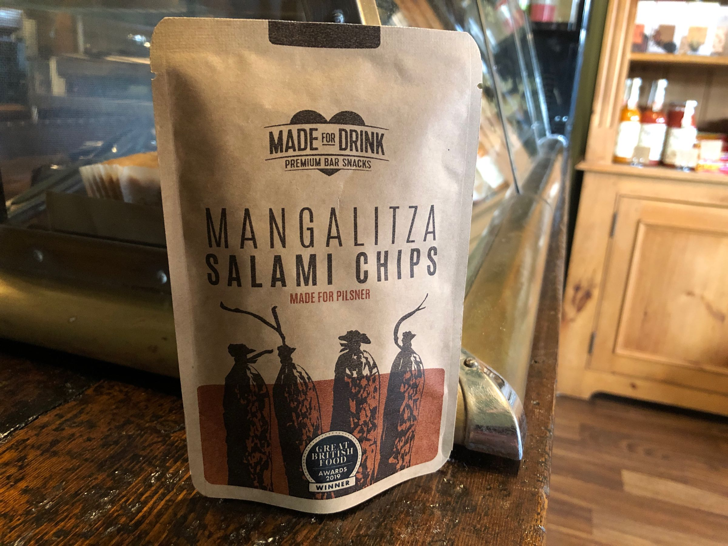 Made For Drink - Mangalitza Salami Chips 23g