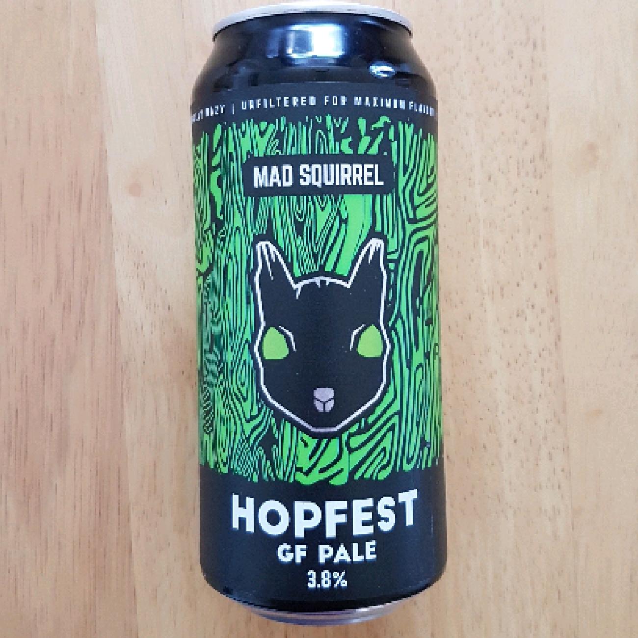 Mad Squirrel Hopfest GF Pale