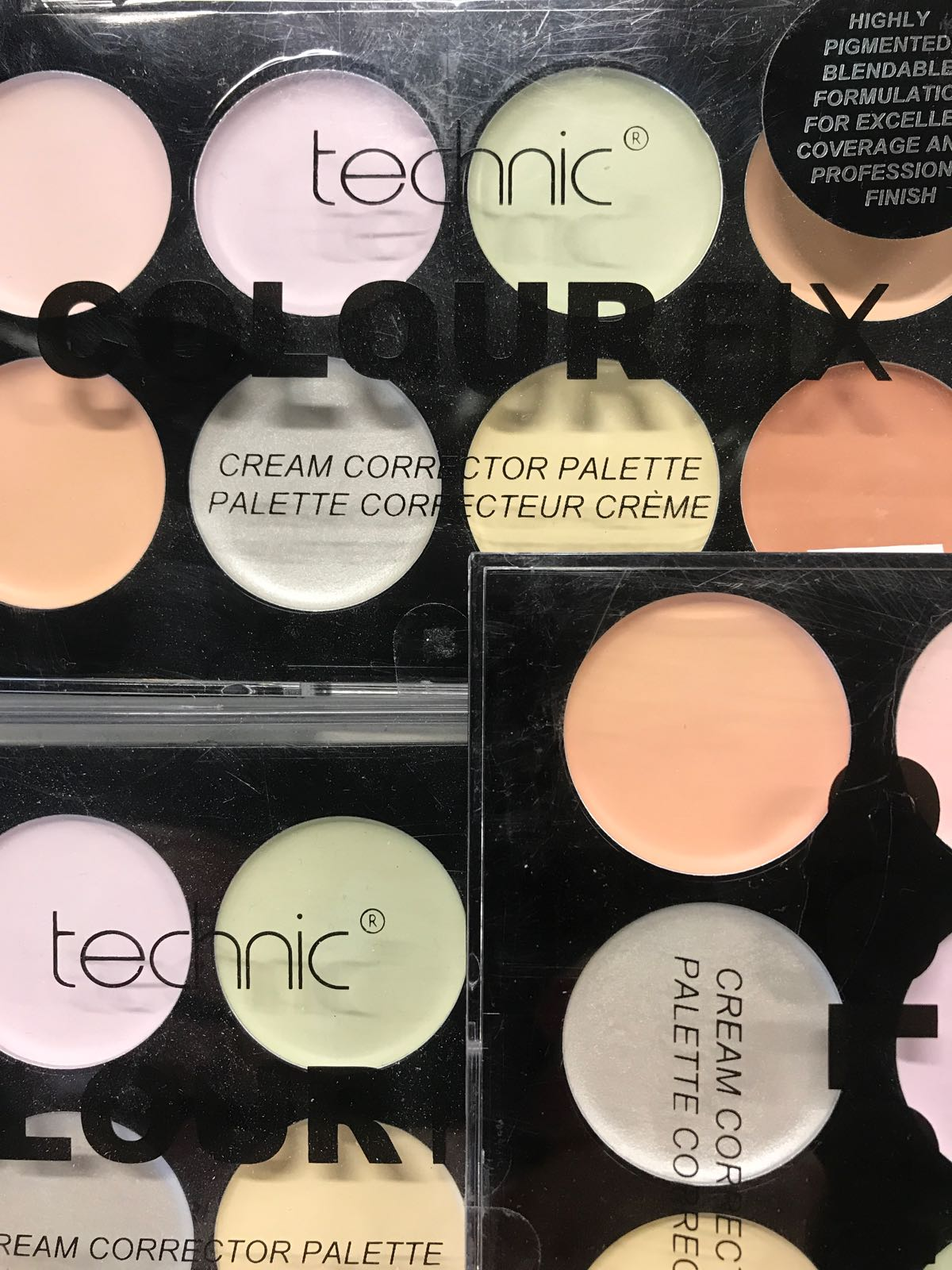 Cream Corrector palette