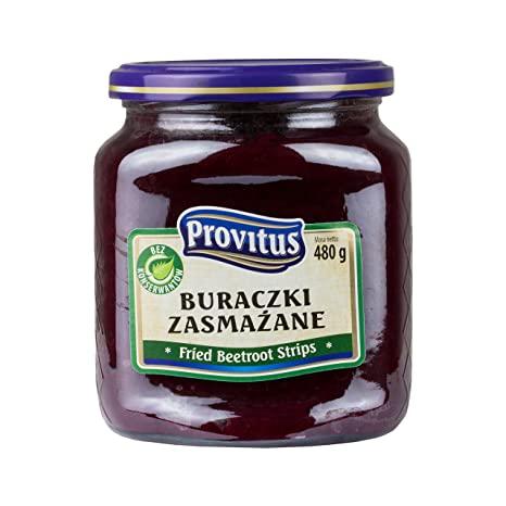 Paistettua punajuurta - Buraczki zasmazane Provitus 480gd