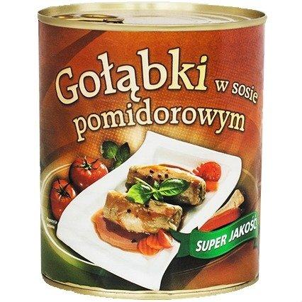 Kaalikääryleet tomaattikastikkeessa - Golabki w sosie pomidorowym 800g