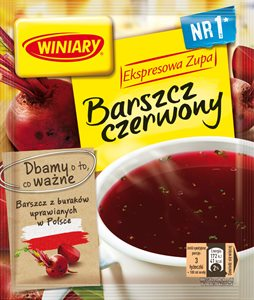 Borssi pussikeitto - Barszcz Instant Winiary 60g