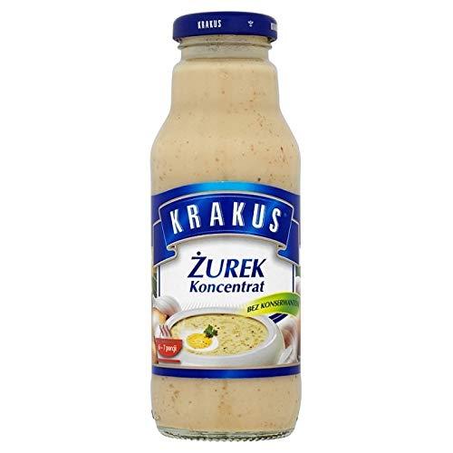 Zurek keittotiiviste Krakus 300ml
