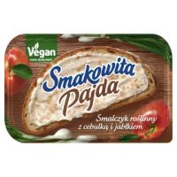 Vegaaninen smalec sipulilla ja omenalla - Smalczyk roslinny z cebulka i jablkiem Smakowita Pajda 180g