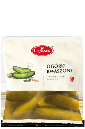 Suolakurkkupaketti - Ogorki kwaszone Urbanek 500g