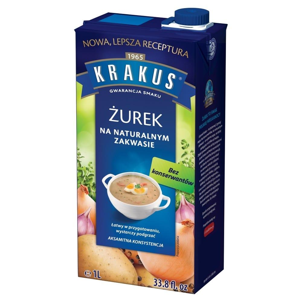Zurek valmiskeitto Krakus 1l