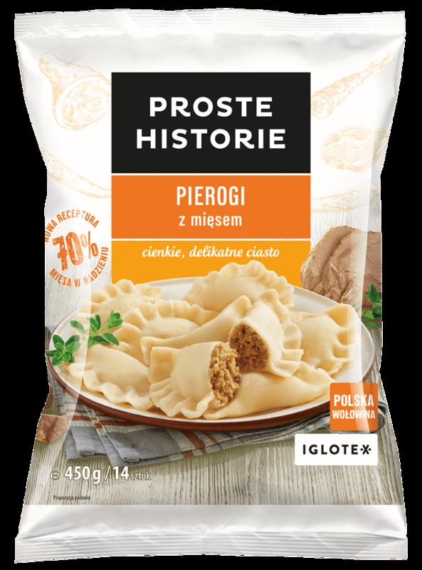 Pakastepierogit lihatäytteellä - Pierogi z miesem Proste Historie 450g