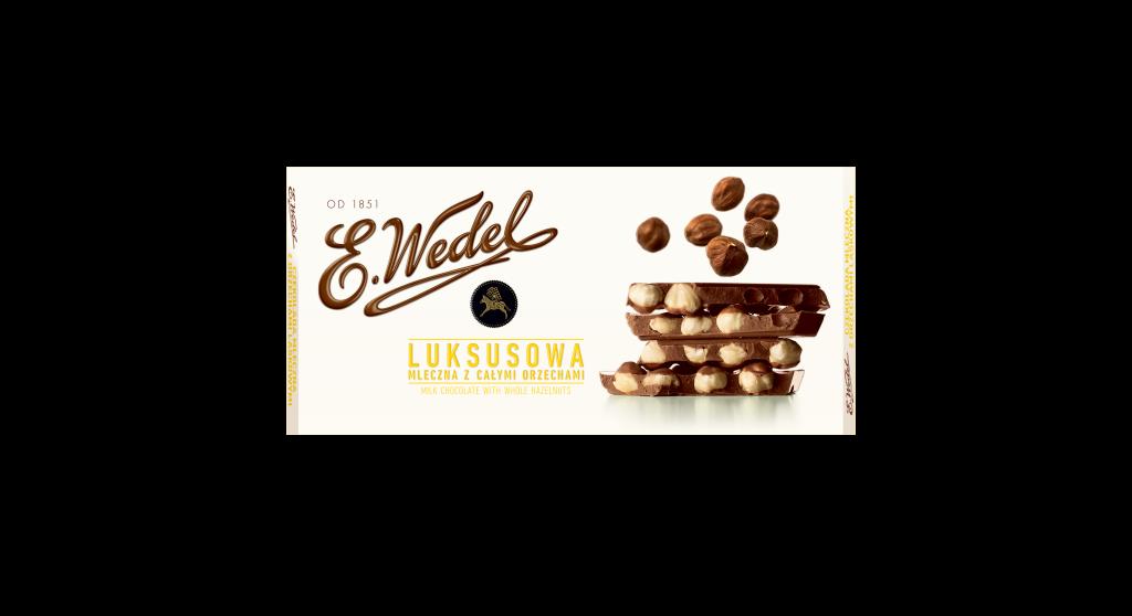 E. Wedel Luksus Hasselpähkinämaitosuklaa 100g