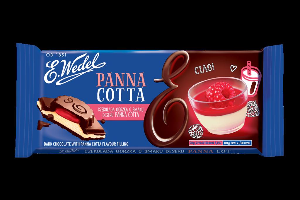 E. Wedel Panna Cotta tummasuklaa 100g