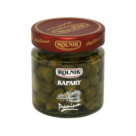 Marinoidut kaprikset - Kapary Rolnik Premium 205 g