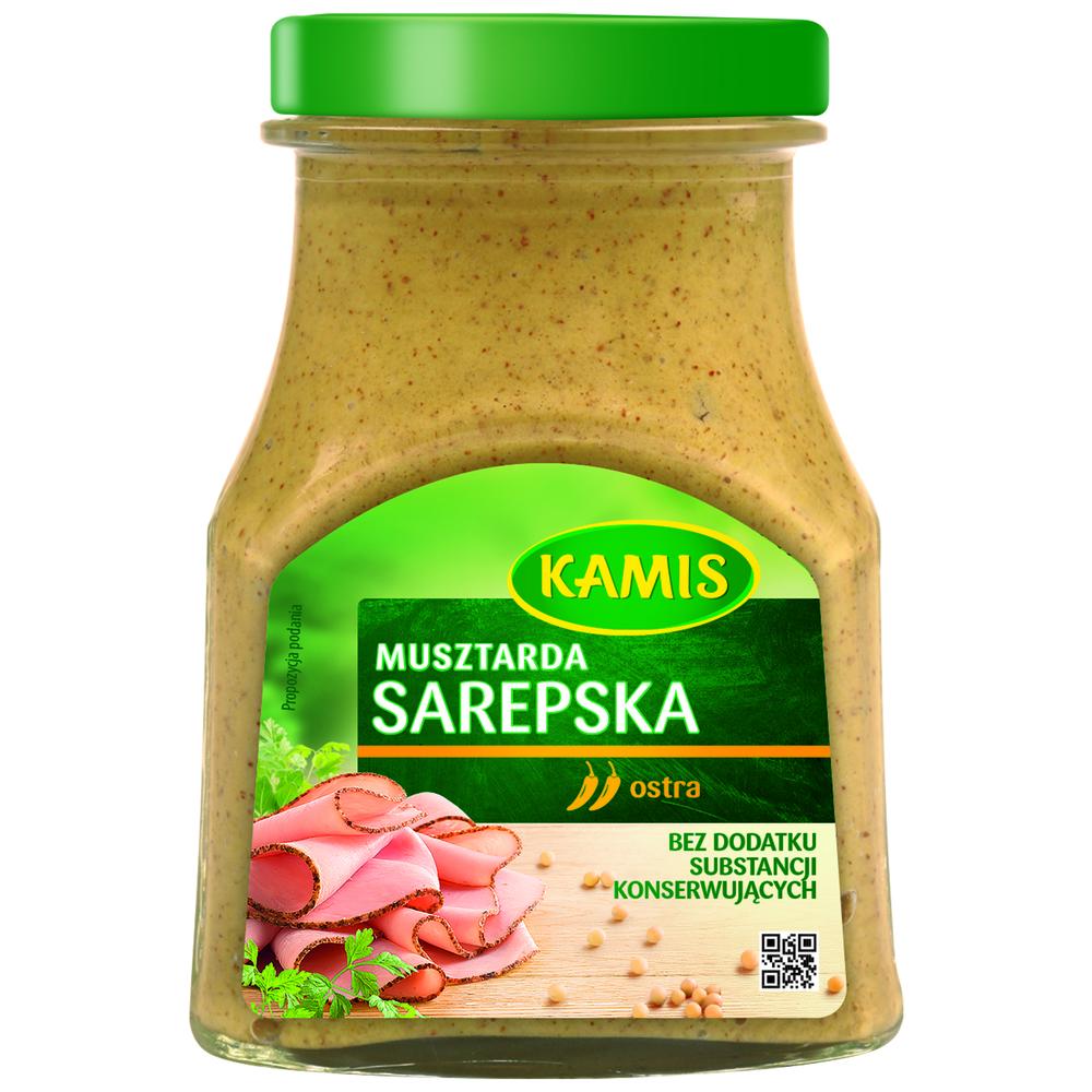 Sarepska sinappi - musztarda Kamis 185 g