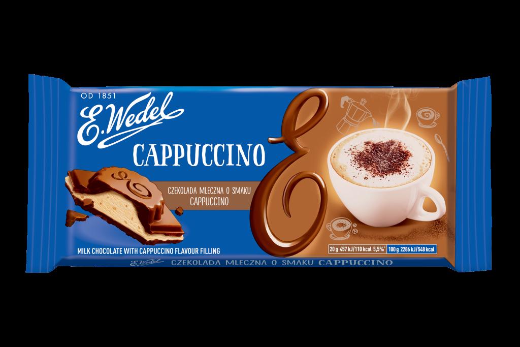 E. Wedel Cappuccino tummasuklaa 100g