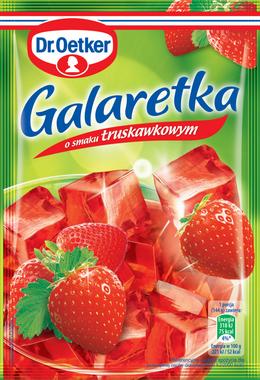 Mansikkahyytelö - Galaretka truskawkowa Dr.Oetker 144g