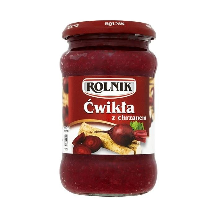 Puna- ja piparjuuritahna Cwikla Rolnik 350 g