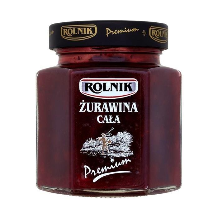 Kokonaisia karpaloita - Zurawina cala Rolnik 300g