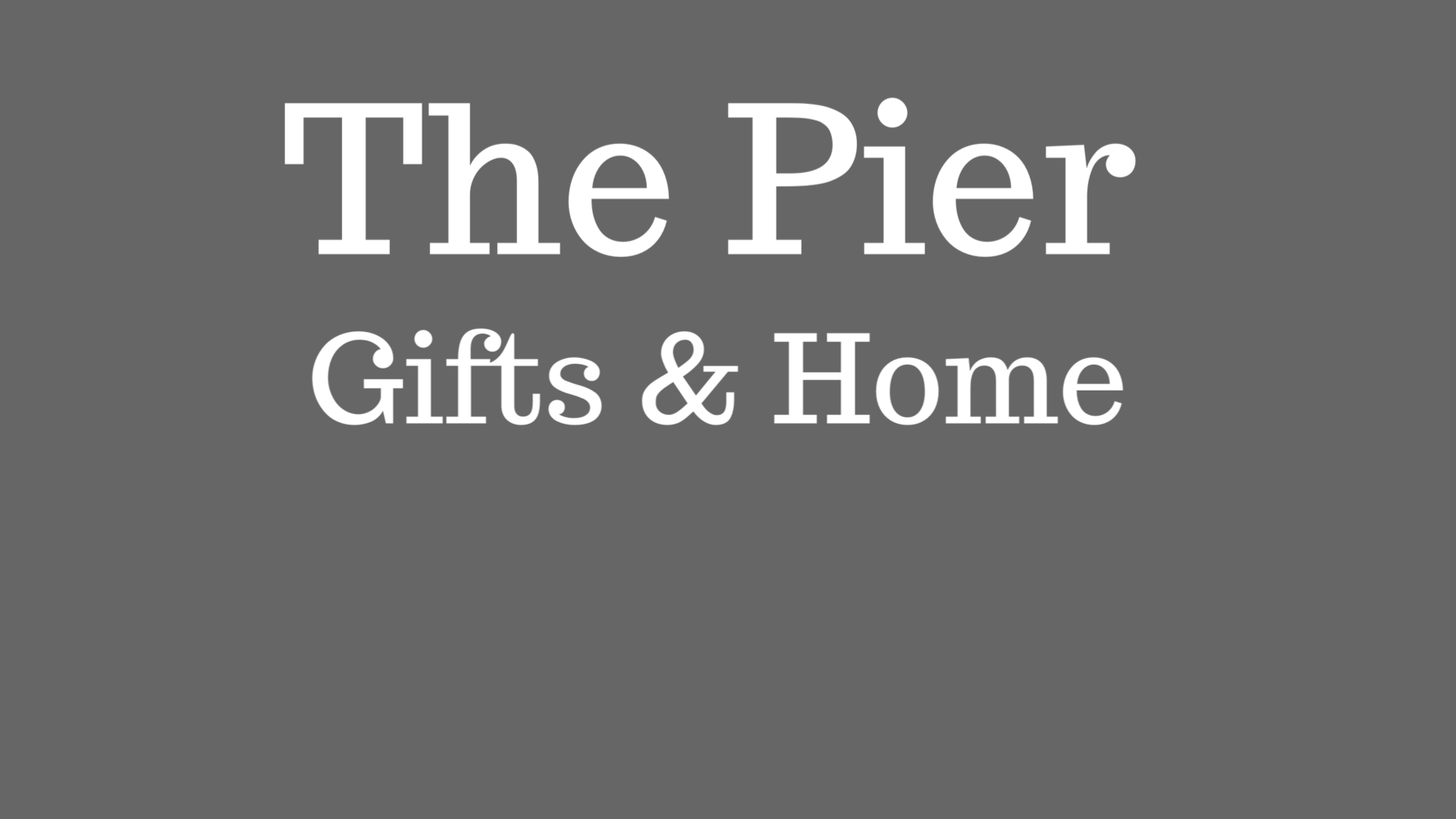 The Pier Gifts & Home