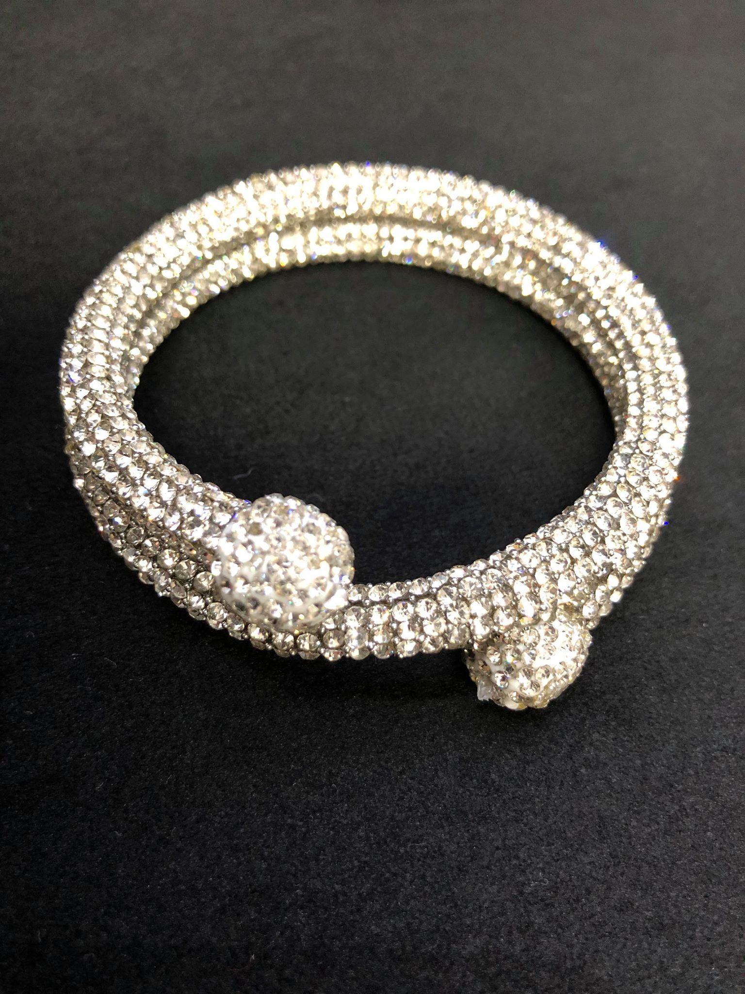 Diamante Snake Bracelet