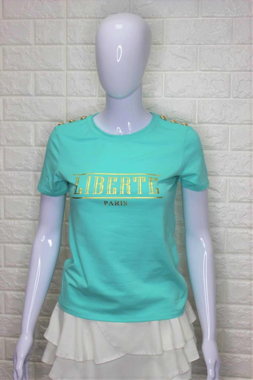 Mint Green Liberte T-Shirt