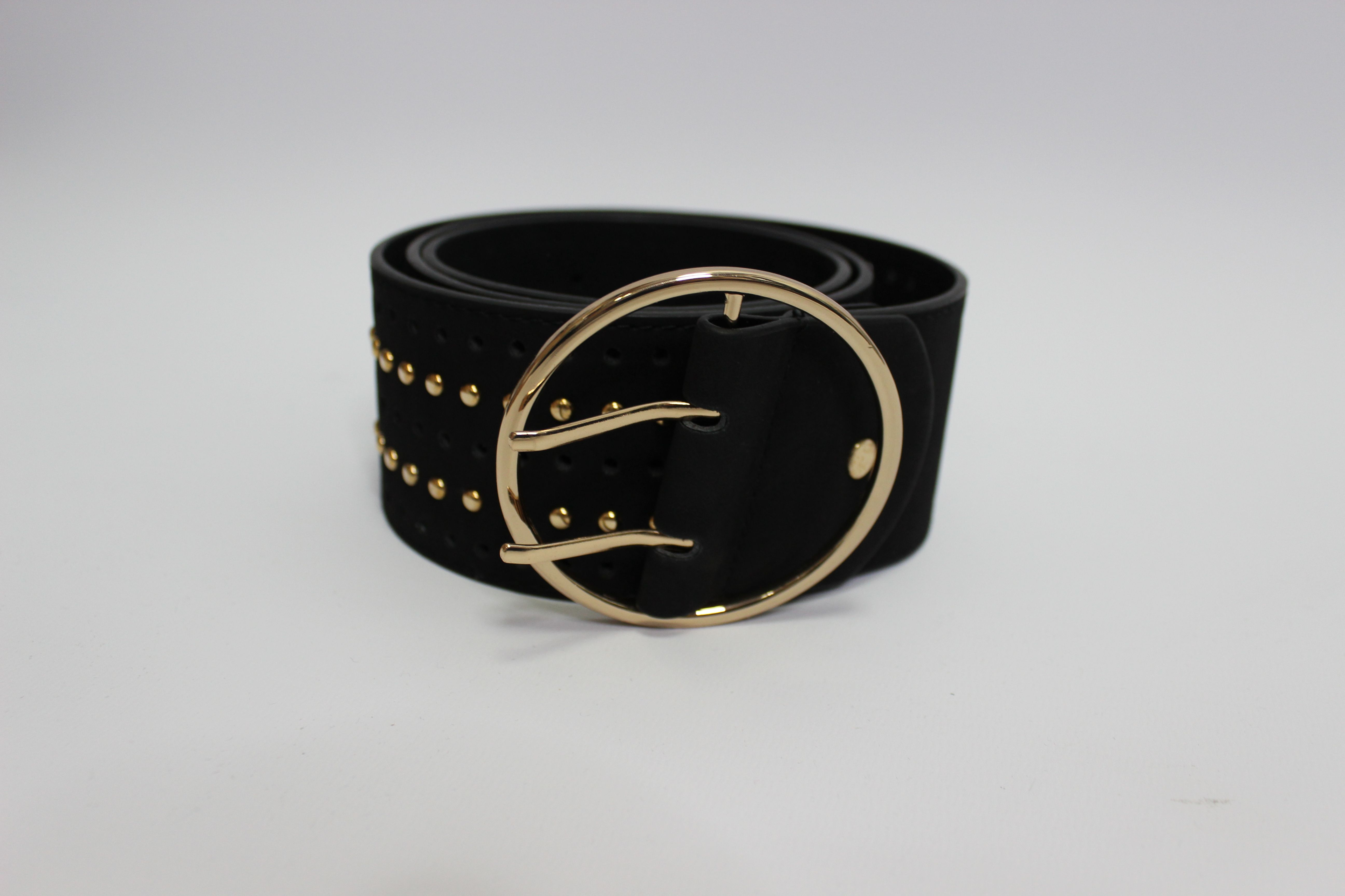 Black Studded Style Belt