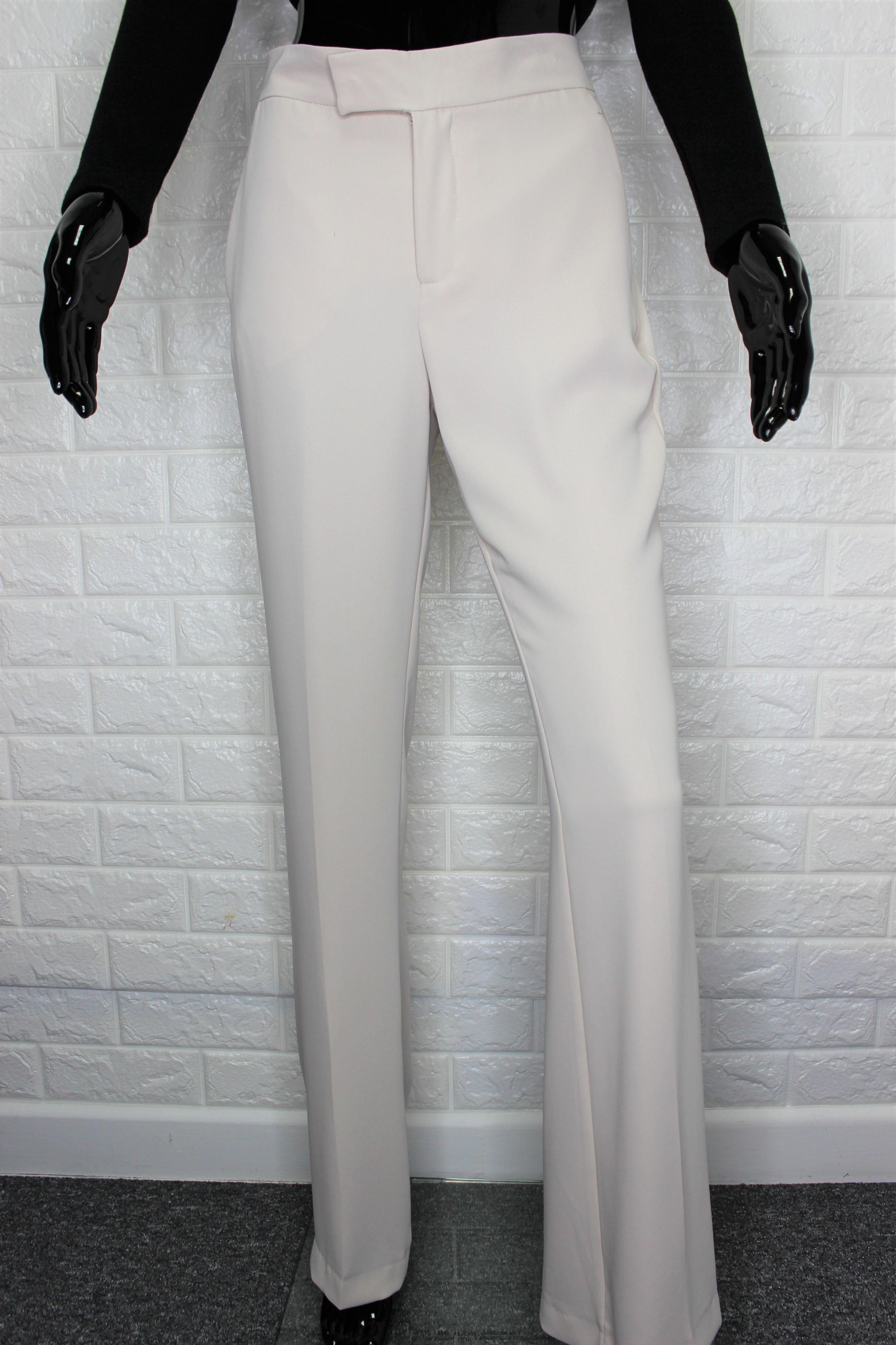 Elegant Nude Trousers