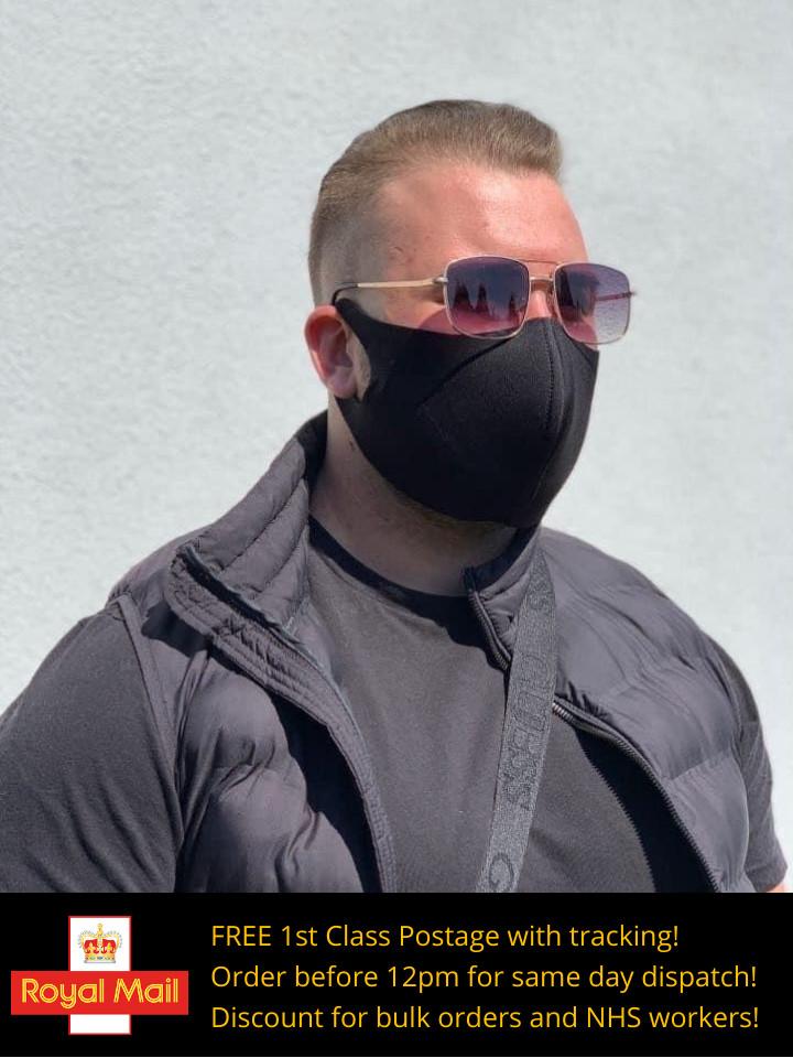 Face Mask - Black (Mens)