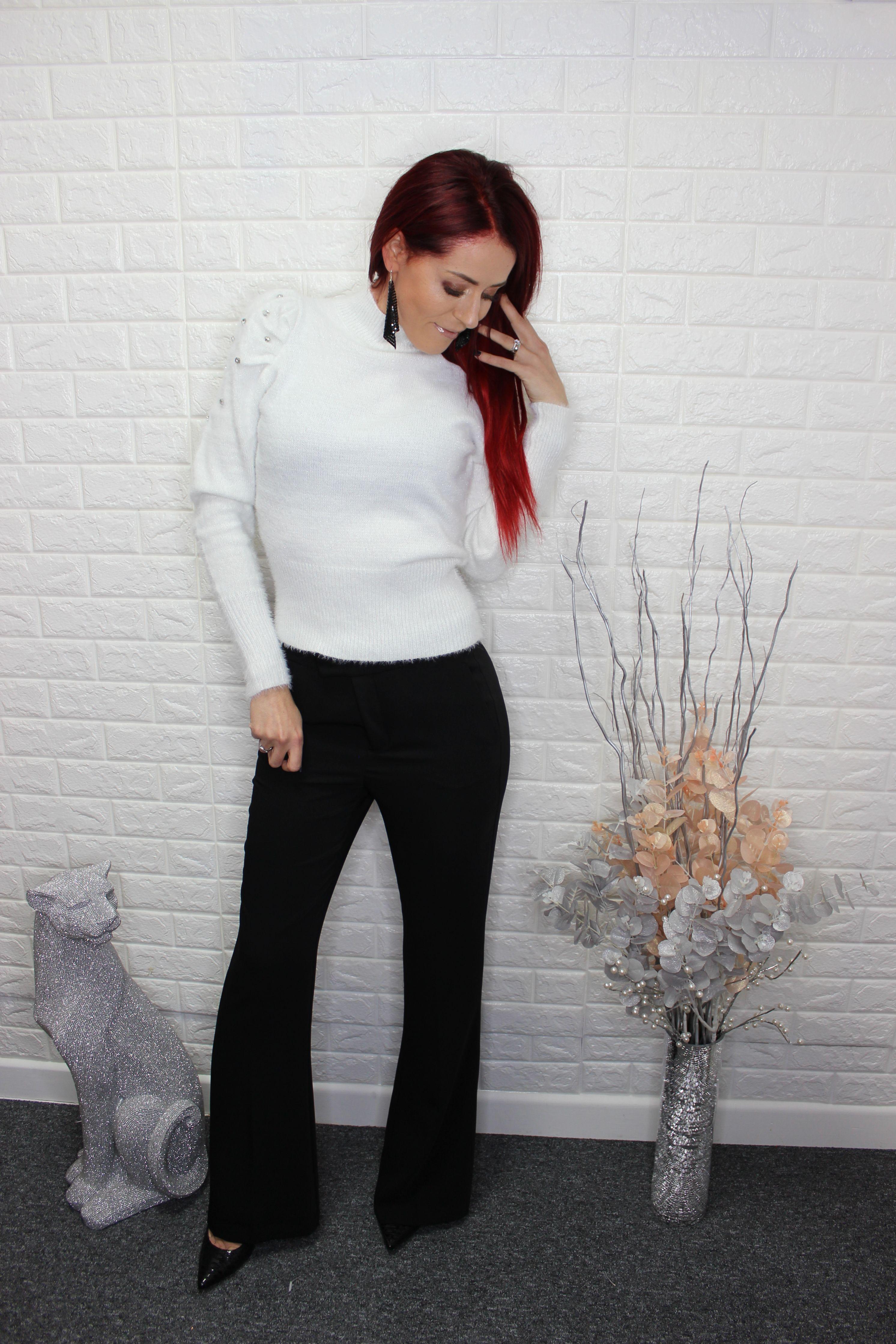 Black Elegant Trousers