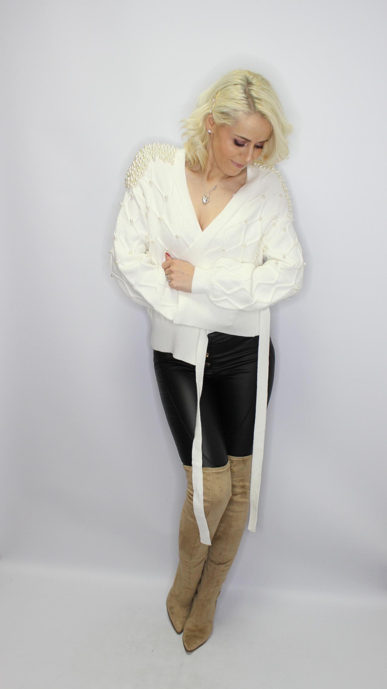 Elegant Ivory Cardigan