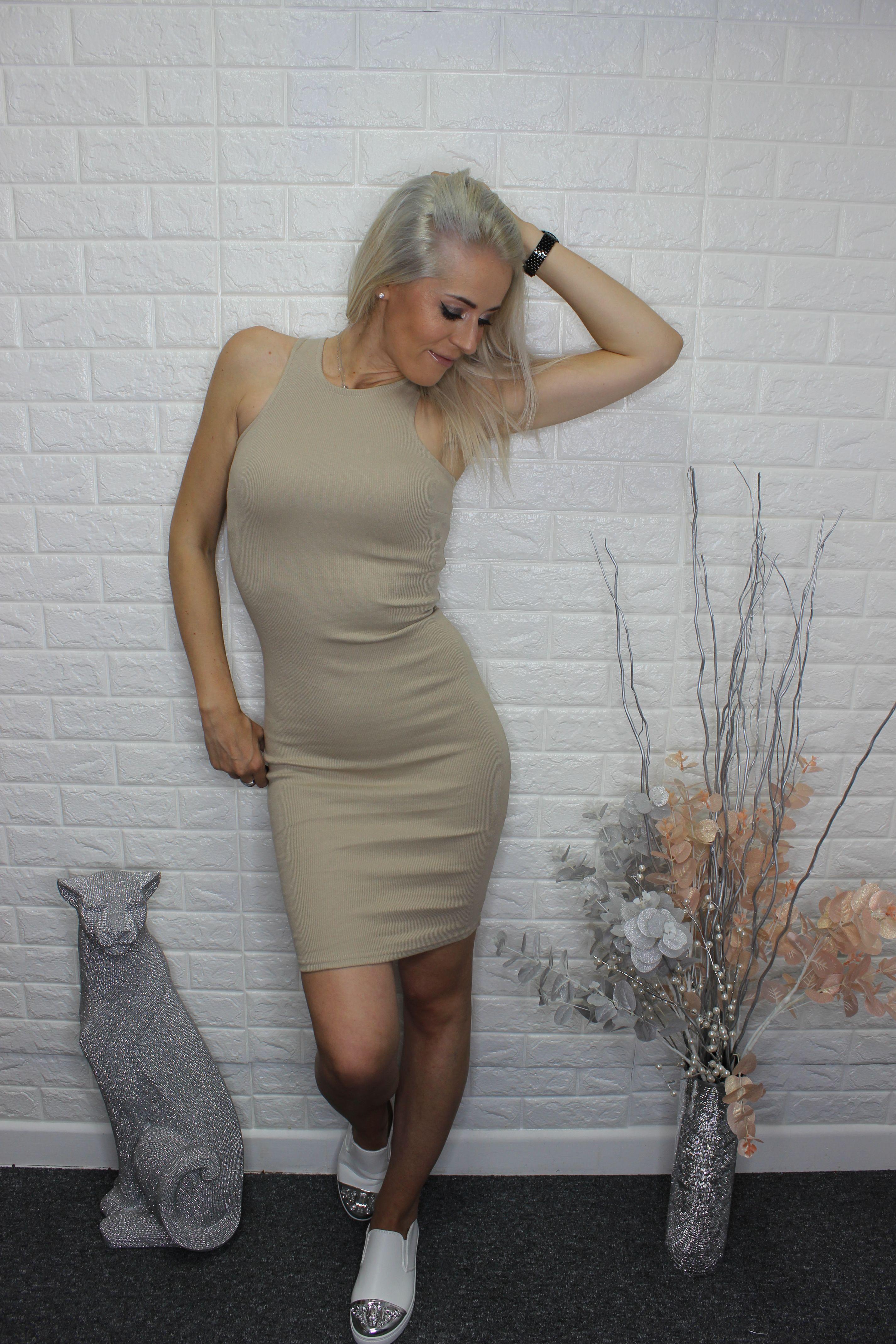 Mocha Casual Dress