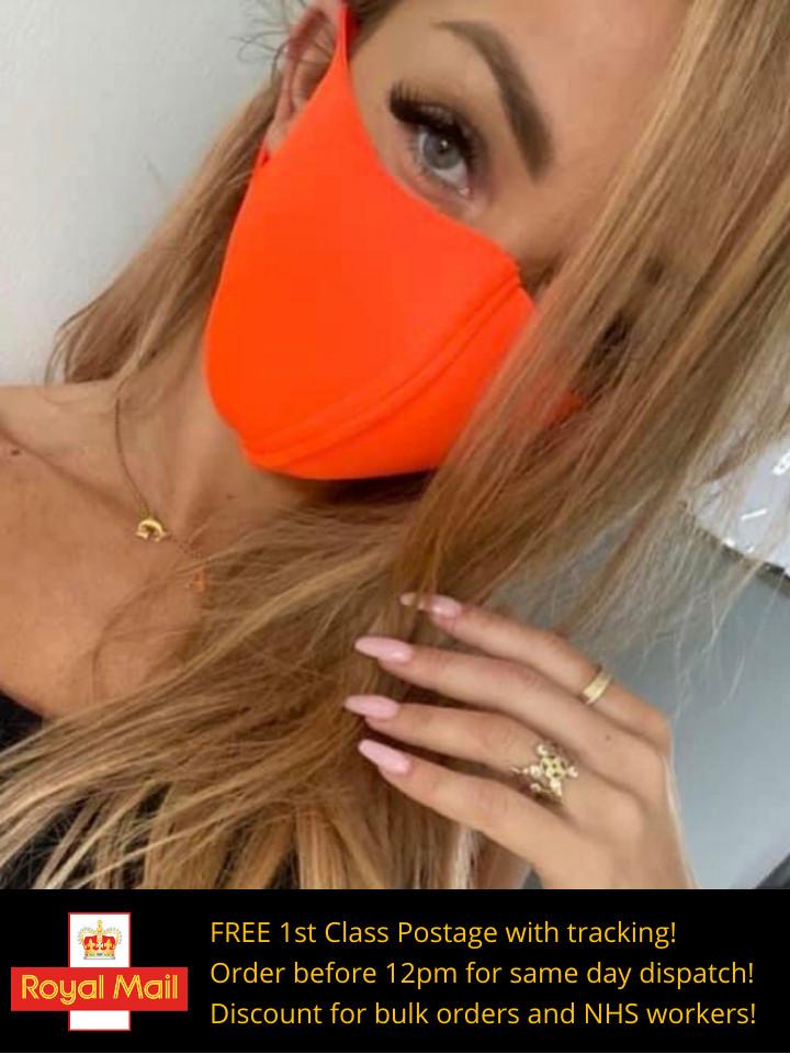 Face Mask - Orange