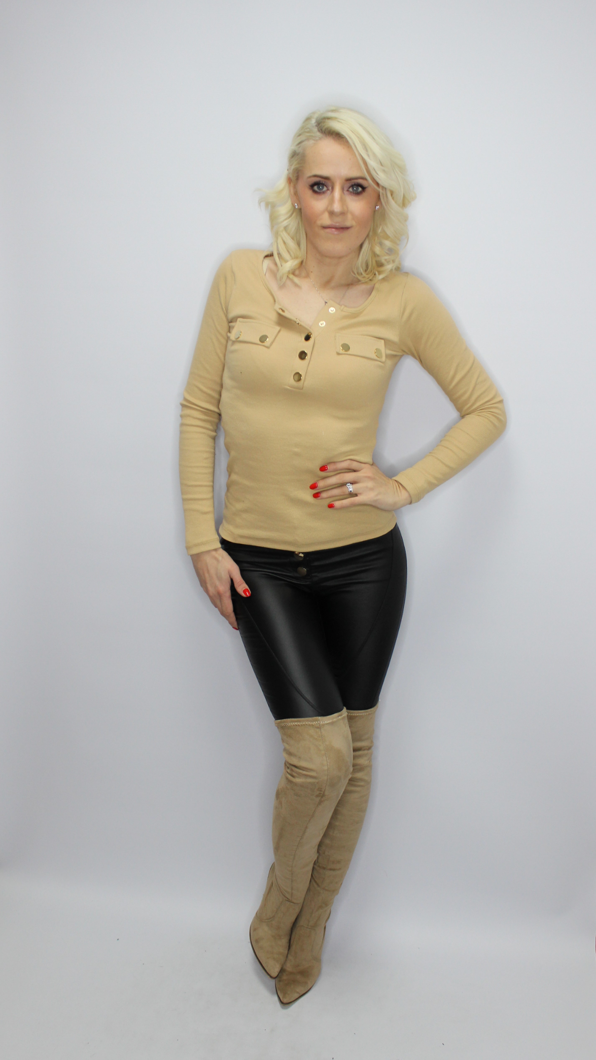 Caramel Basic Top