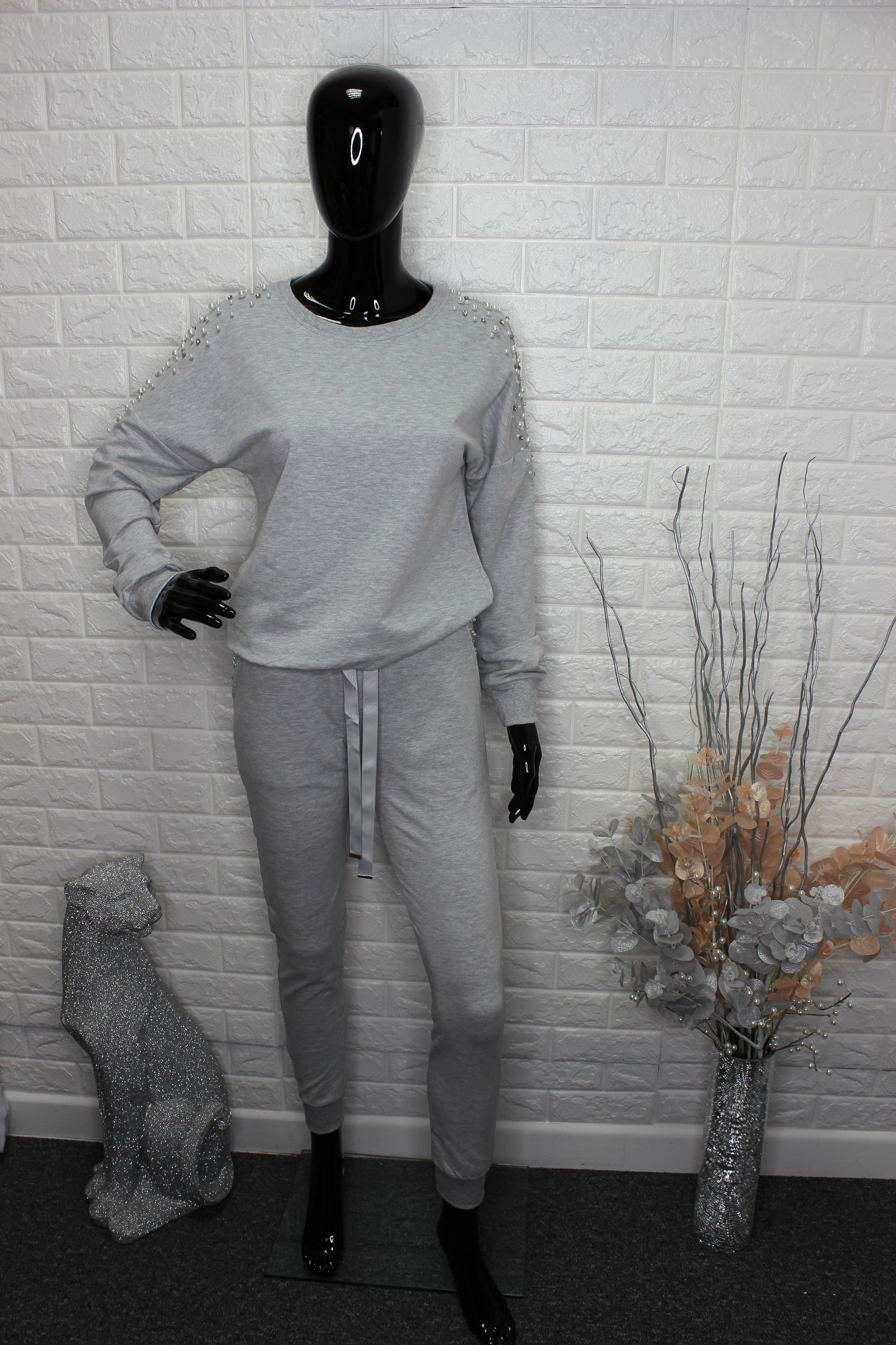 Tall Grey Tracksuit