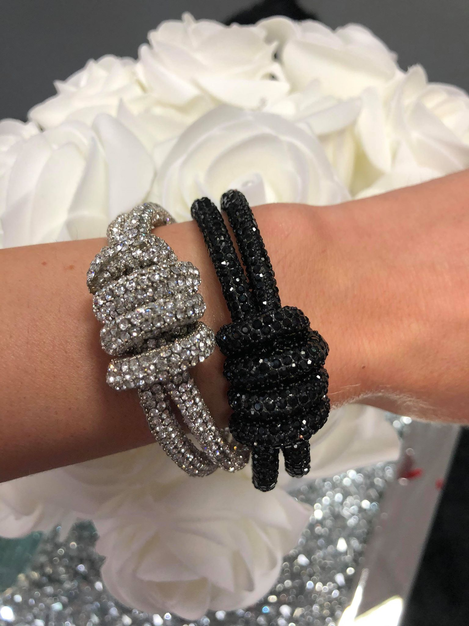 Black Diamante Bracelet