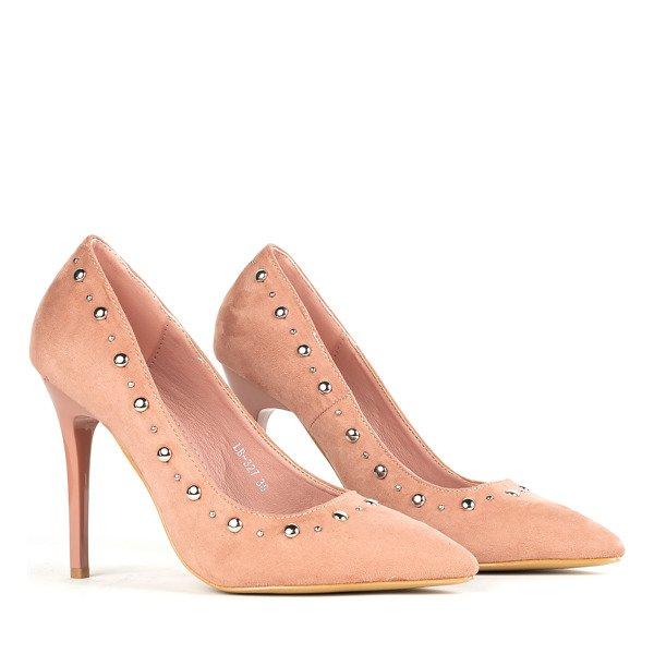 Elegant Powder Pink Stilettos