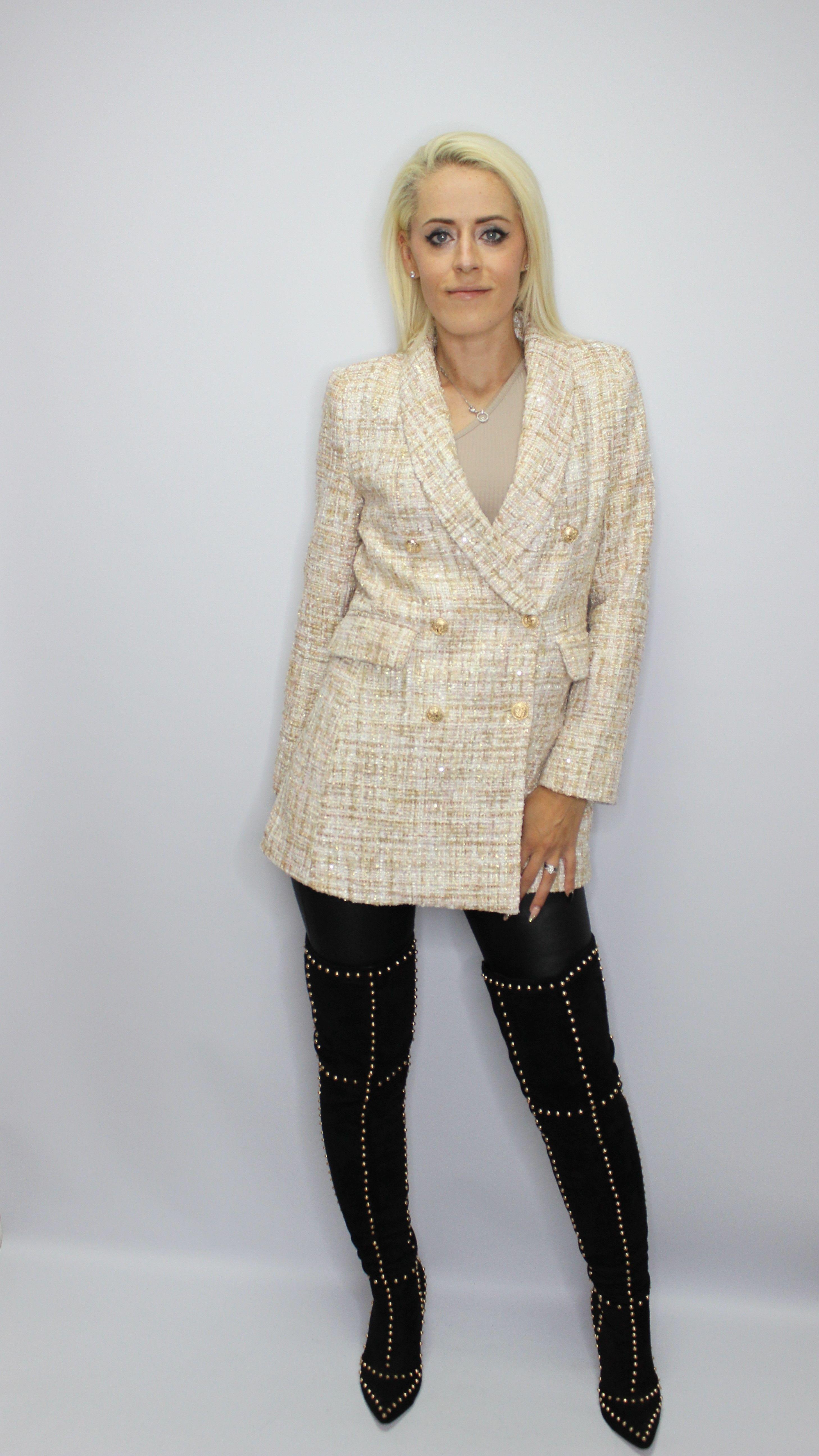 Chanel Style Blazer