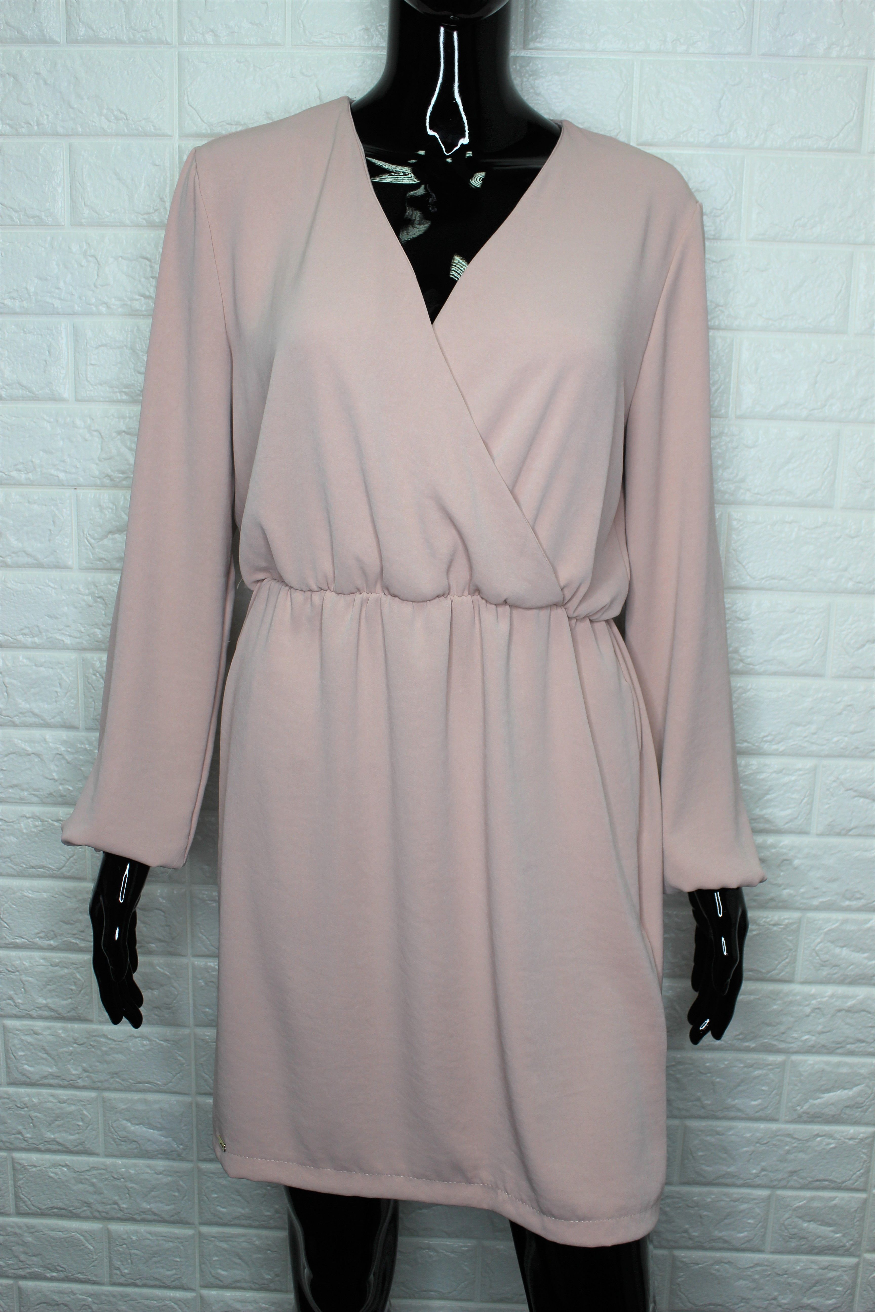 Powder Pink Elegant Dress